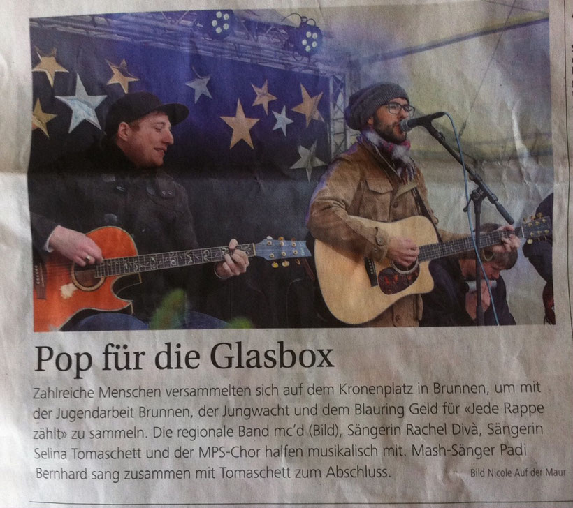 Bote der Urschweiz,  22.12.2014