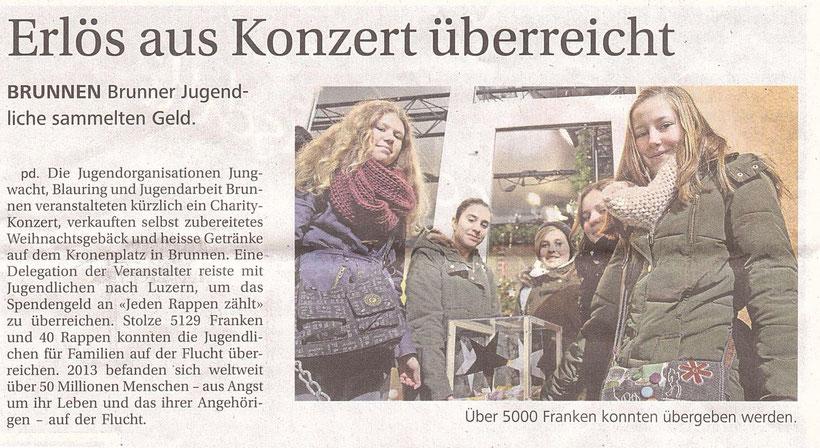 Bote der Urschweiz,  03.01.2015