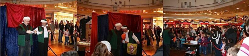 Weihnachtsprogramm mit Weihnachtself