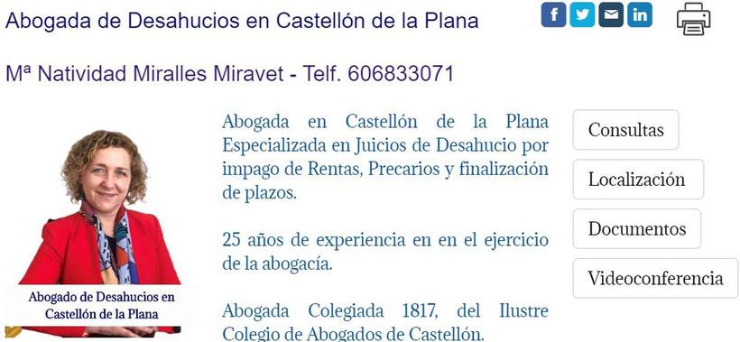 Abogado de Desahucios en Castellón.