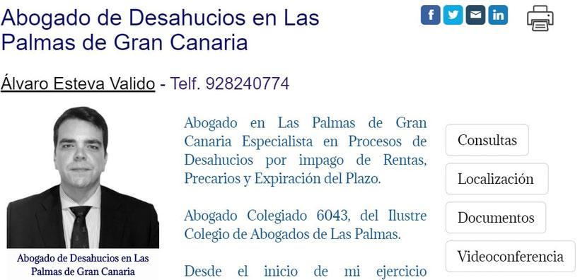 Abogado en Las Palmas de Gran Canaria