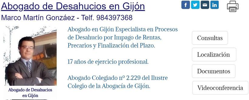 Abogado de Desahucios en Gijón