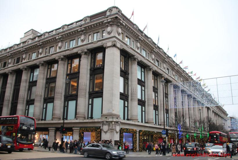 London Shopping Tipps: Die besten Kaufhäuser und Einkaufszentren in London - Selfridges