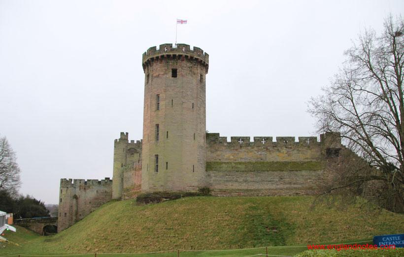 Die 10 schönsten Schlösser und Burgen in England: Warwick Castle, England