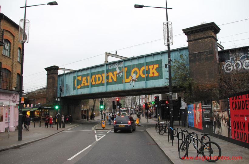 Die 10 besten Flohmärkte in London: Camden Lock Market