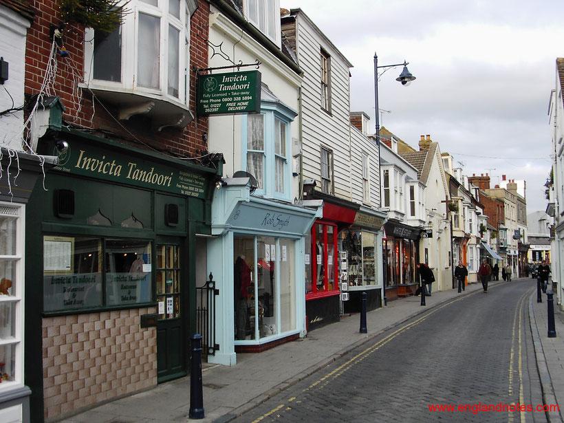 Die bestehen Sehenswürdigkeiten und Reisetipps für Whitstable: High Street