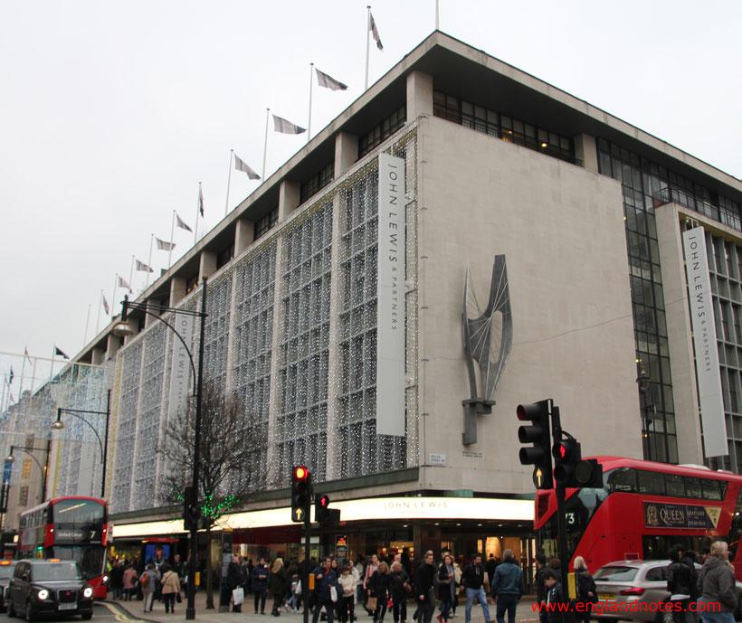 London Shopping Tipps: Die besten Kaufhäuser und Einkaufszentren in London - John Lewis