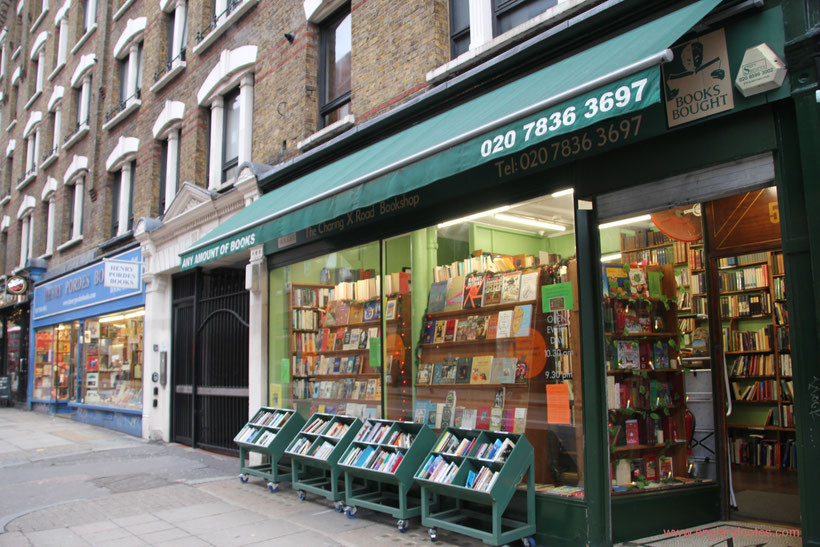 Die besten Buchläden in London: Charing Cross Road Bookstore