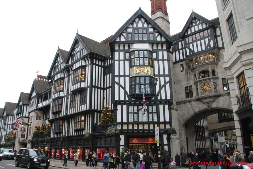London Shopping Tipps: Die besten Kaufhäuser und Einkaufszentren in London - Liberty
