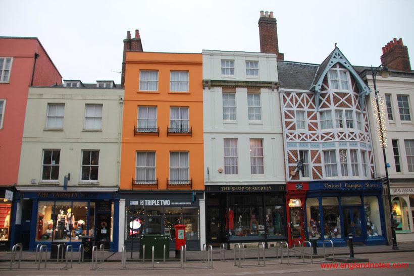 Sehenswürdigkeiten und Reisetipps Oxford: Broad Street