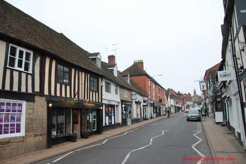 Sehenswürdigkeiten und Reisetipps für Warwick und Warwick Castle: Die Stadt Warwick