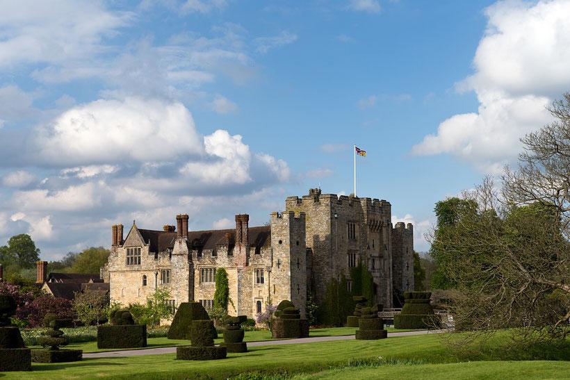 Die 10 schönsten Schlösser und Burgen in England: Hever Castle, England