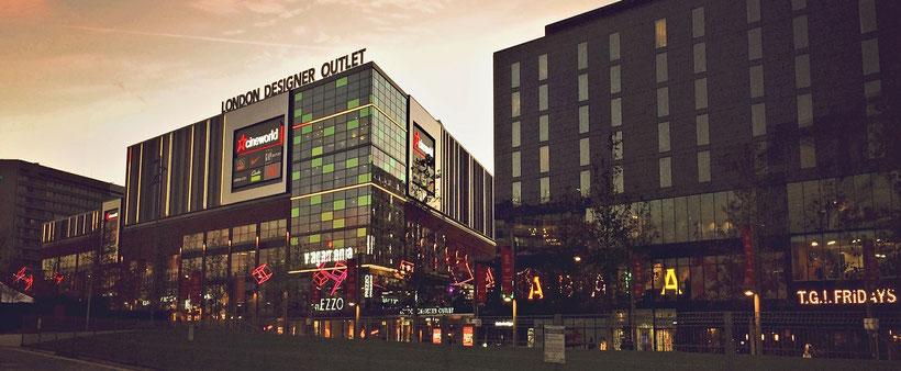 London Shopping Tipps: Die besten Kaufhäuser und Einkaufszentren in London - London Designer Outlet