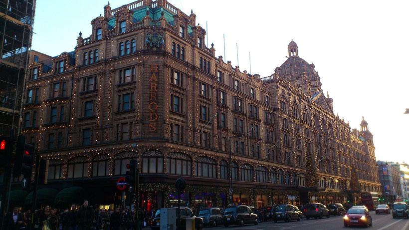 London Shopping Tipps: Die besten Kaufhäuser und Einkaufszentren in London - Harrods