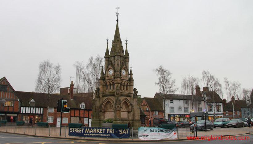 Sehenswürdigkeiten und Reisetipps Stratford-upon-Avon: Farmer's Market Rother Street.