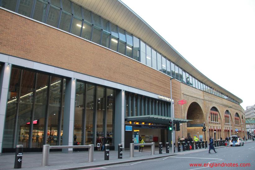 Mit dem Zug durch England reisen: Bahnhof London Bridge