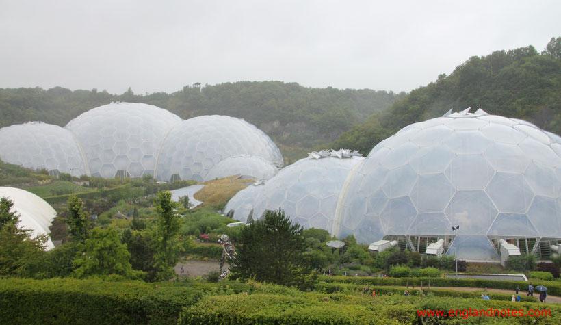 Die 10 schönsten Gärten in Cornwall, England: Eden Project