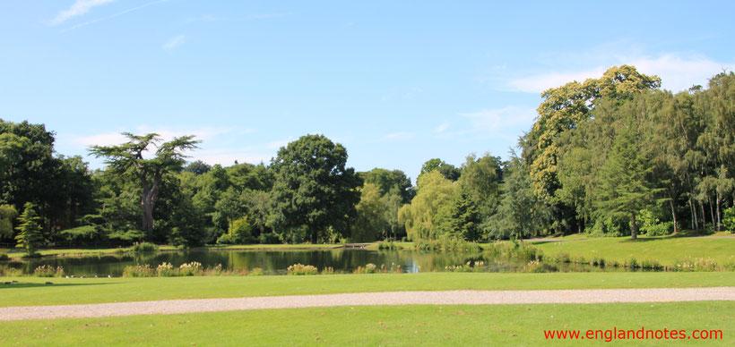 Die 10 schönsten englischen Gärten in England: Ein typisch englischer Landschaftsgarten.