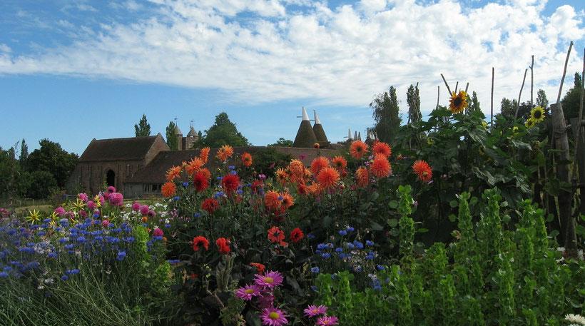 Die besten Tipps zur Planung deiner Reise durch England: Sissinghurst Gardens