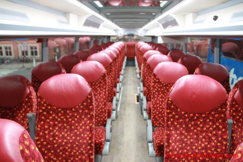 Busreisen in England mit Megabus