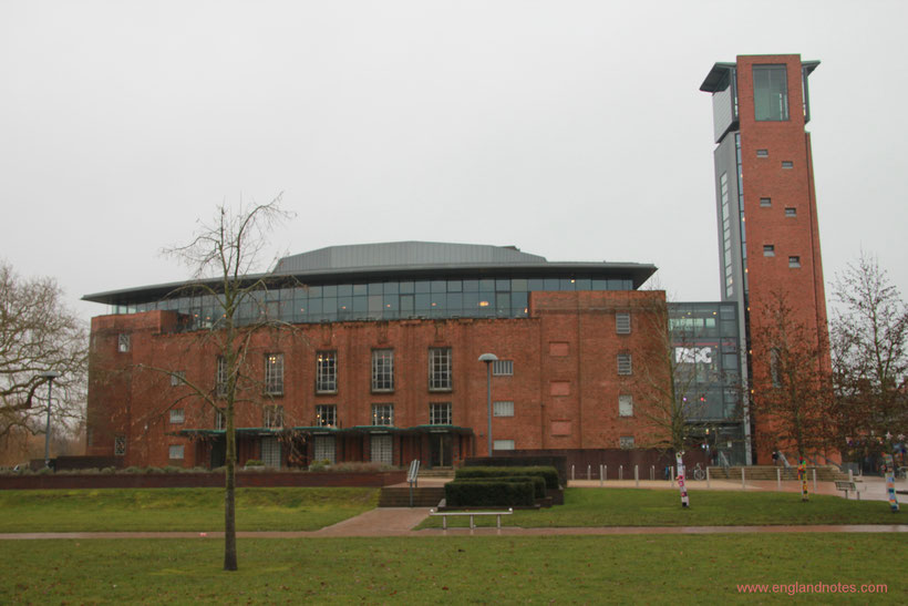 Sehenswürdigkeiten und Reisetipps Stratford-upon-Avon: Royal Shakespeare Theatre