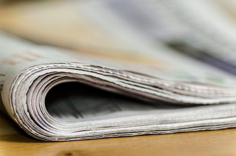 Die Fleet Street in London und die britischen Tageszeitungen