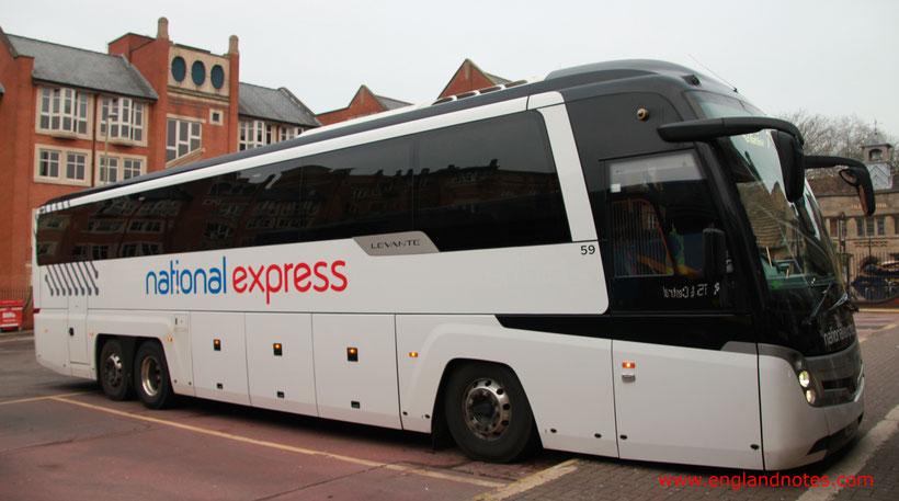 Busreisen in England mit National Express