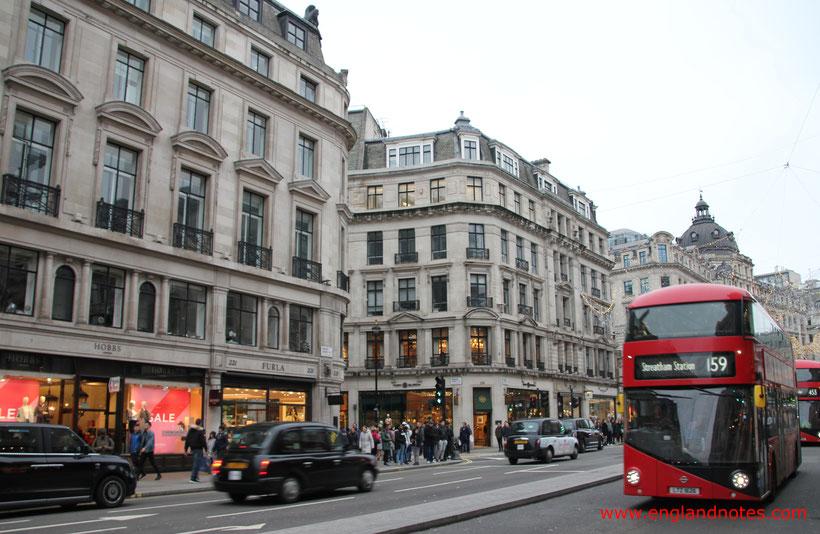 Die wichtigsten Reiseinformationen für London: Mit dem Bus unterwegs in London
