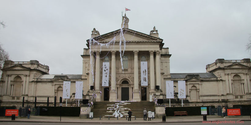 Die besten Galerien in London: Tate Britain