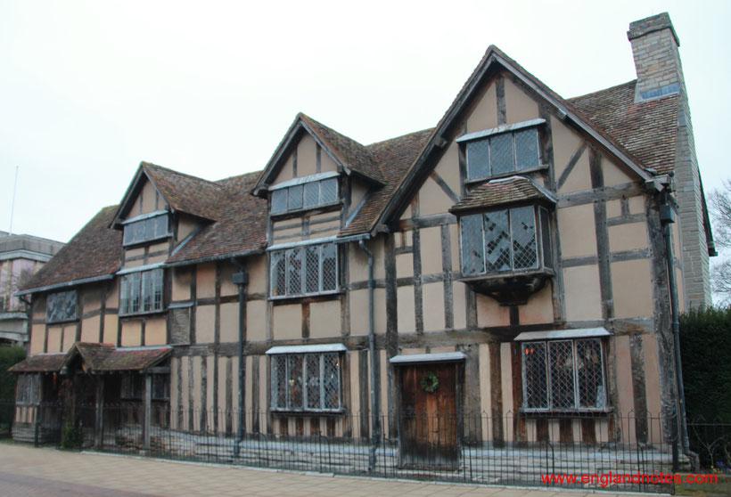 Sehenswürdigkeiten und Reisetipps Stratford-upon-Avon: Shakespeares Geburtshaus
