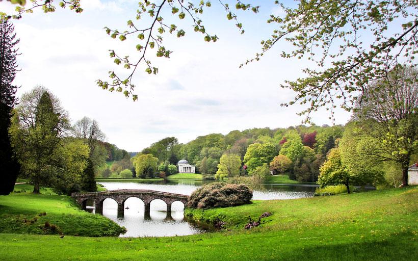 Die 10 schönsten englischen Gärten in England: Stourhead Garden