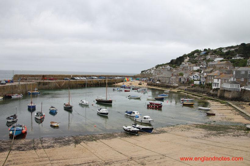 Sehenswürdigkeiten und Reisetipps für Mousehole in Cornwall