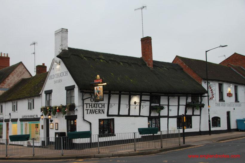 Sehenswürdigkeiten und Reisetipps Stratford-upon-Avon: The Old Thatch Tavern