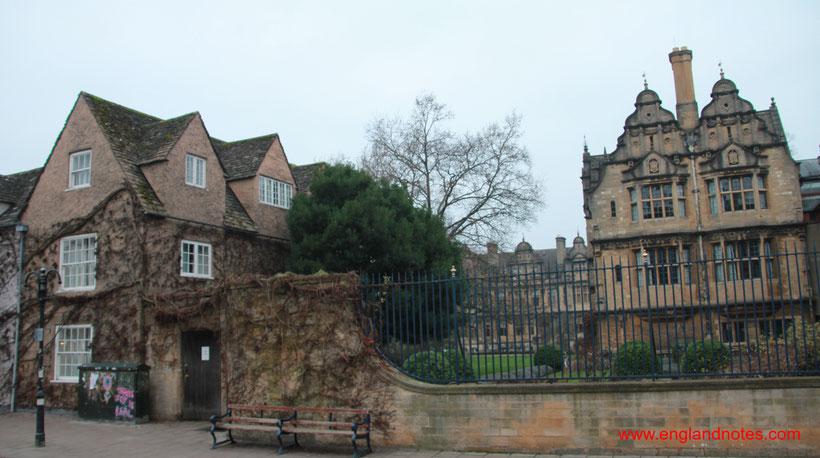 Sehenswürdigkeiten und Reisetipps Oxford: Trinity College