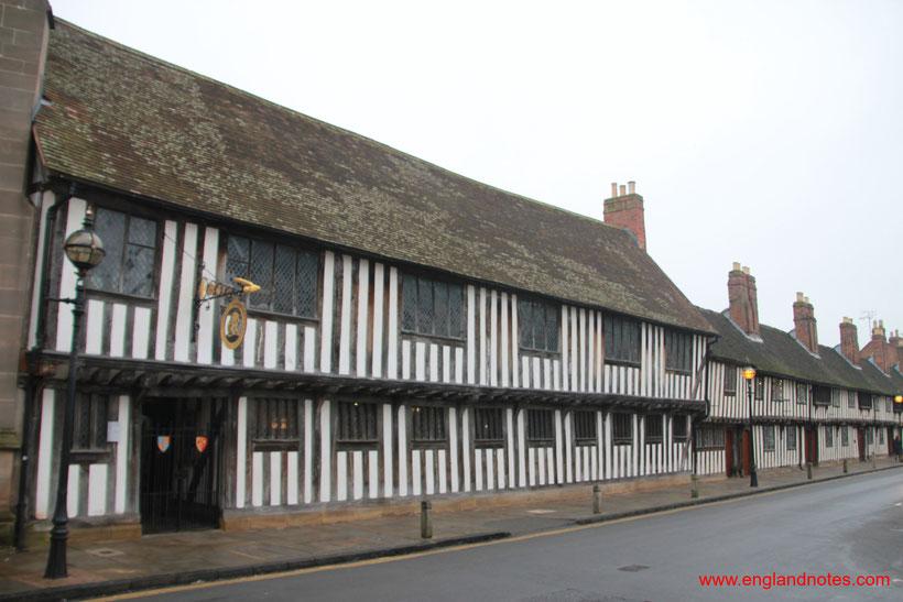 Sehenswürdigkeiten und Reisetipps Stratford-upon-Avon: Shakespeares Grammar School