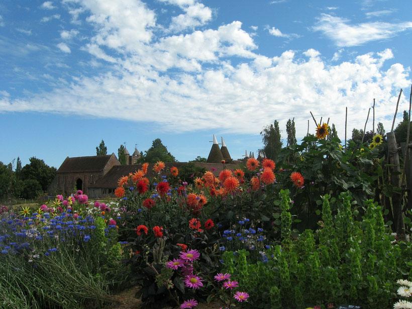 Die 10 schönsten englischen Gärten in England:  Sissinghurst, England