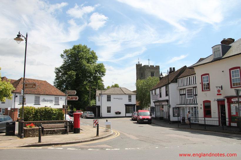 8 traumhafte Reiseziele in Südengland: Lenham in Kent, England