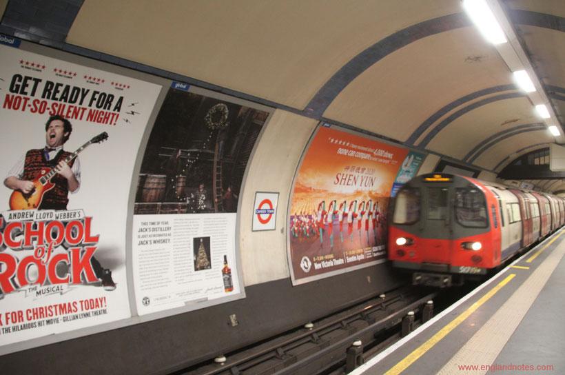 Die wichtigsten Reiseinformationen für London: Wie funktioniert die Londoner U-Bahn