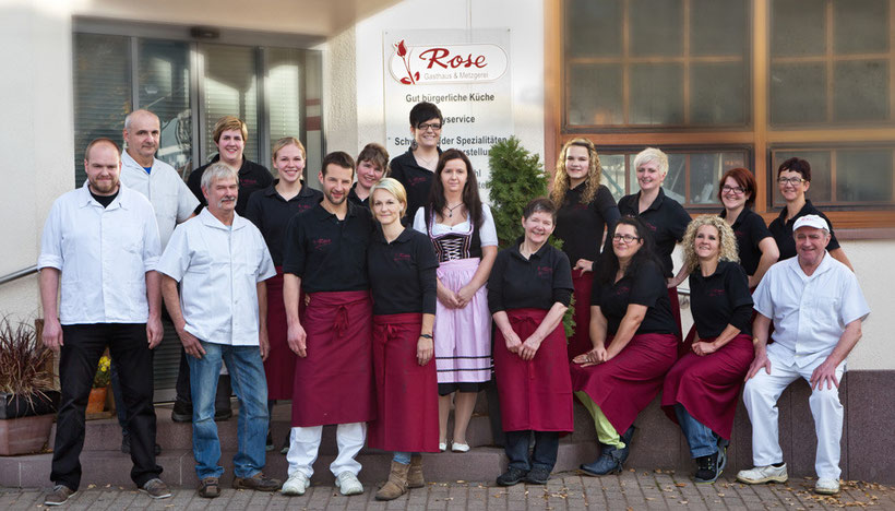 Team Metzgerei Rose in Steinach