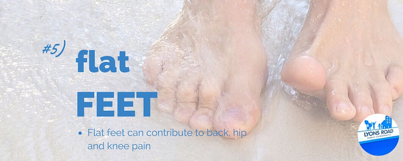 flat feet and health