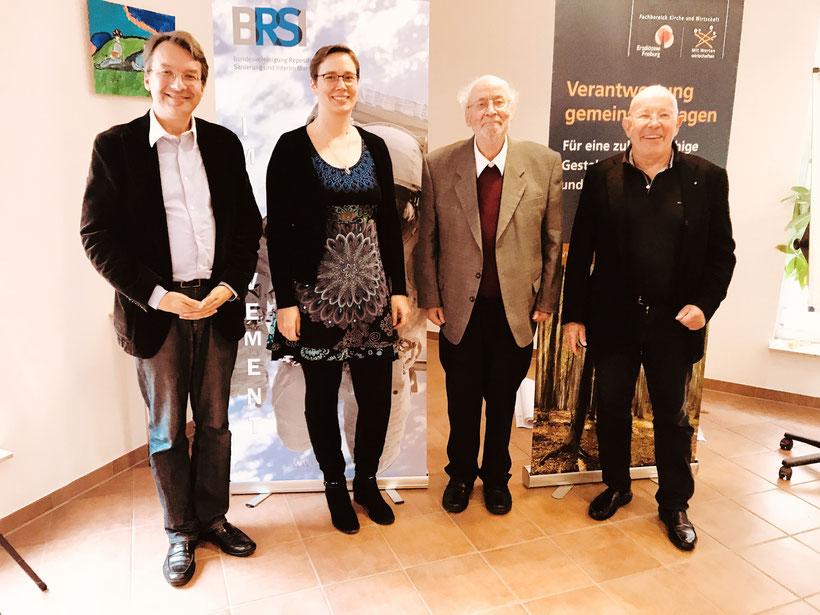 Dr. Andreas Gröpl, Vanessa Lang, Prof. Hardy Wagner, Dr. Dieter Körner