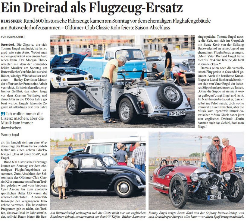 Kölner Stadt-Anzeiger, 15. September 2016
