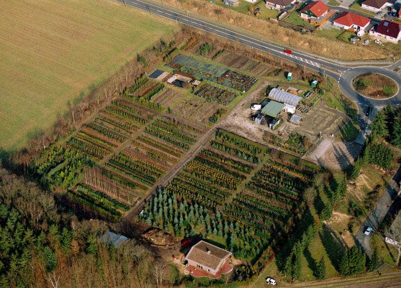 Baumschule, Luftbild 2006, Munster