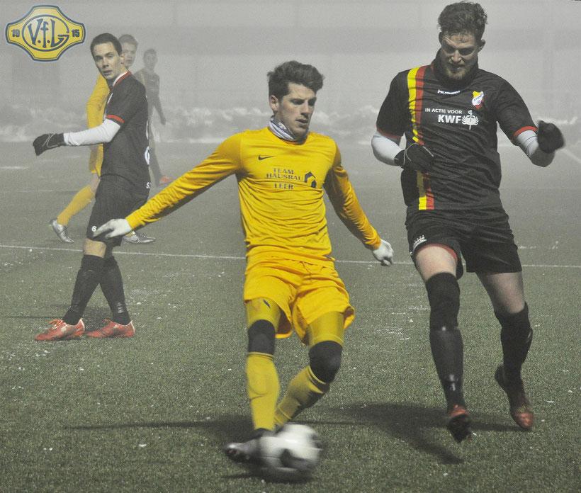 Benjamin Lünemann traf doppelt für den VfL
