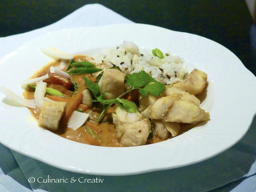 Fischcurry thailändisch