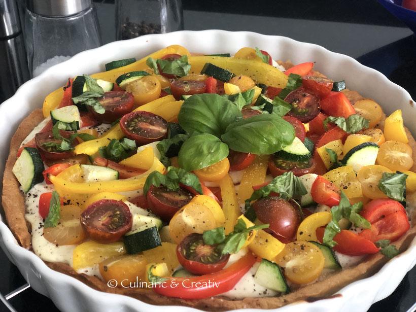 Bunter Gemüsekuchen