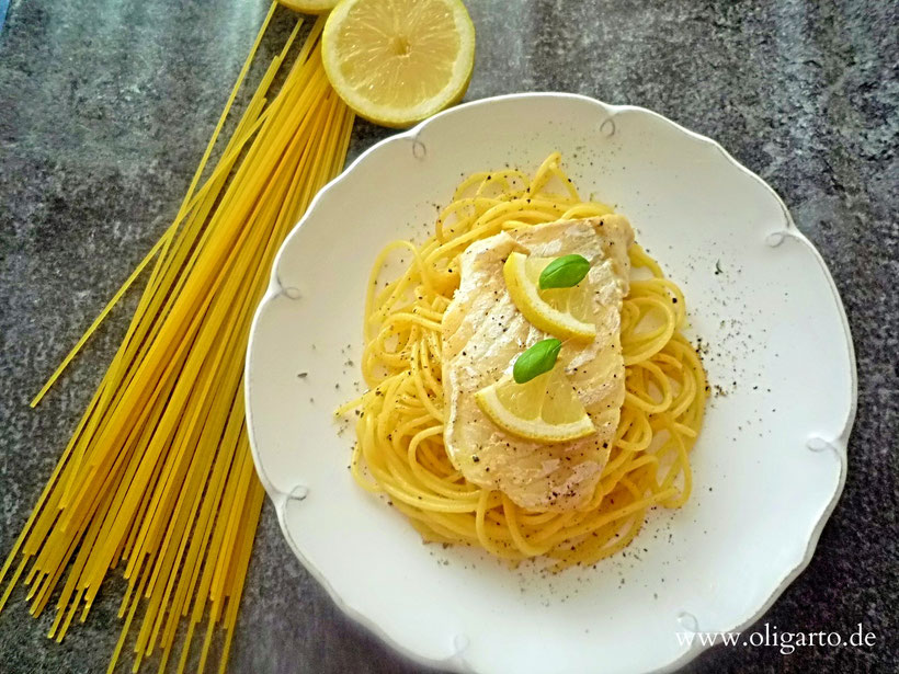 Rezepte Kabeljau Filet Pasta Zitrone Oligarto