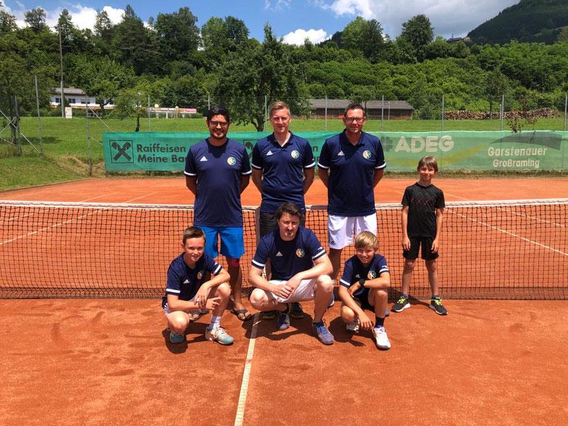 von li. nach re.: RIEDL Lukas, RIEDL Bruno, ZIEGLER Florian, ZIEGLER Martin, WENIGWIESER Werner, STADLOBER Stefan