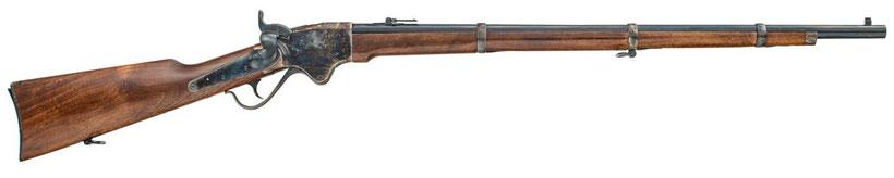 La Spencer version rifle (fusil en version 22 pouces et garde main allongé)