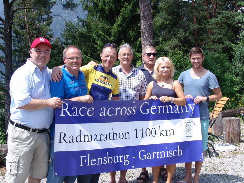 Mein RAG Support -Team von links nach rechts B.Klose,  W.Schwarz, Ich, A.Kohler, P.Grathwohl, J.Grathwohl und S.Hanle.